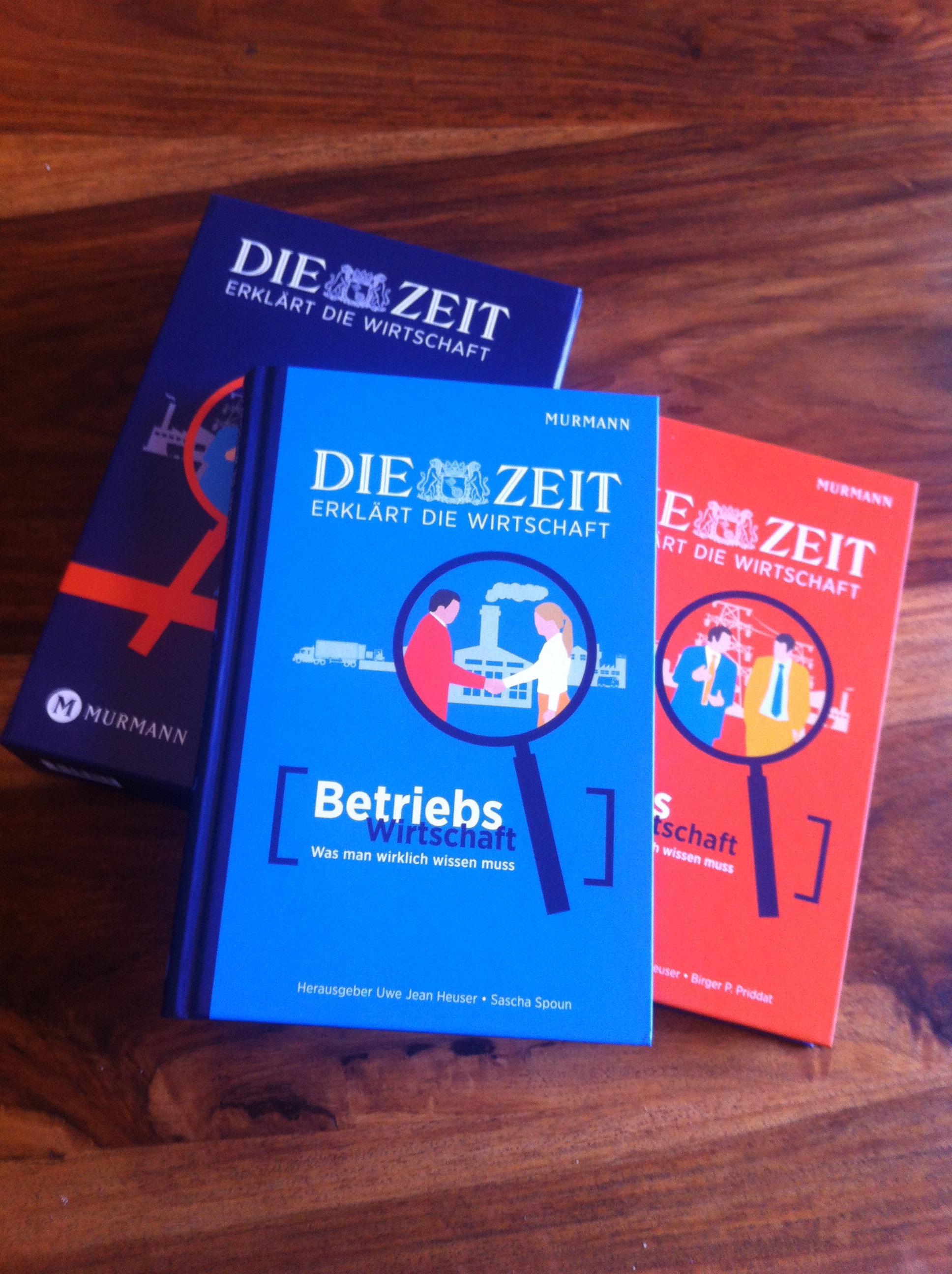 Foto DIE ZEIT erklärt die Wirtschaft - mit Beitrag von Gunnar Brune