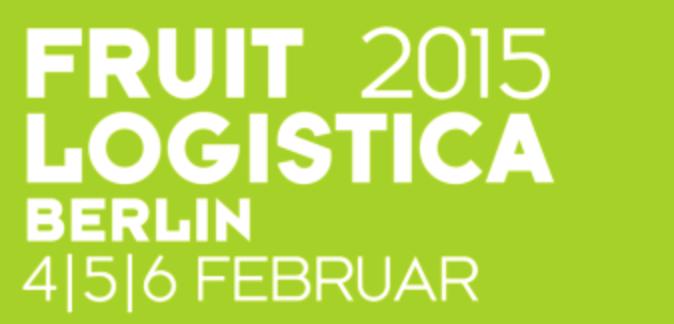Logo der Fruitlogistica mit den Messetagen 2014